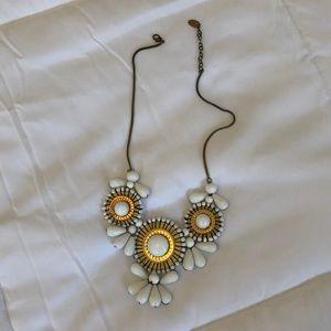 Jewelry - White Statement Necklace